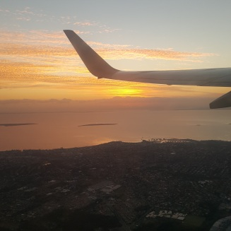Leaving Brisbane